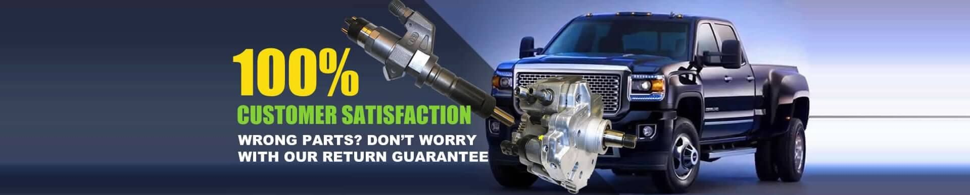 Tamerx Has A Return Guarantee On Parts Detroit Diesel Turbo System Volvo