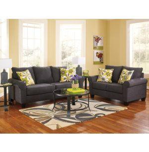 Best Nolana Sofa Loveseat Set Fabric Furniture Sets 400 x 300
