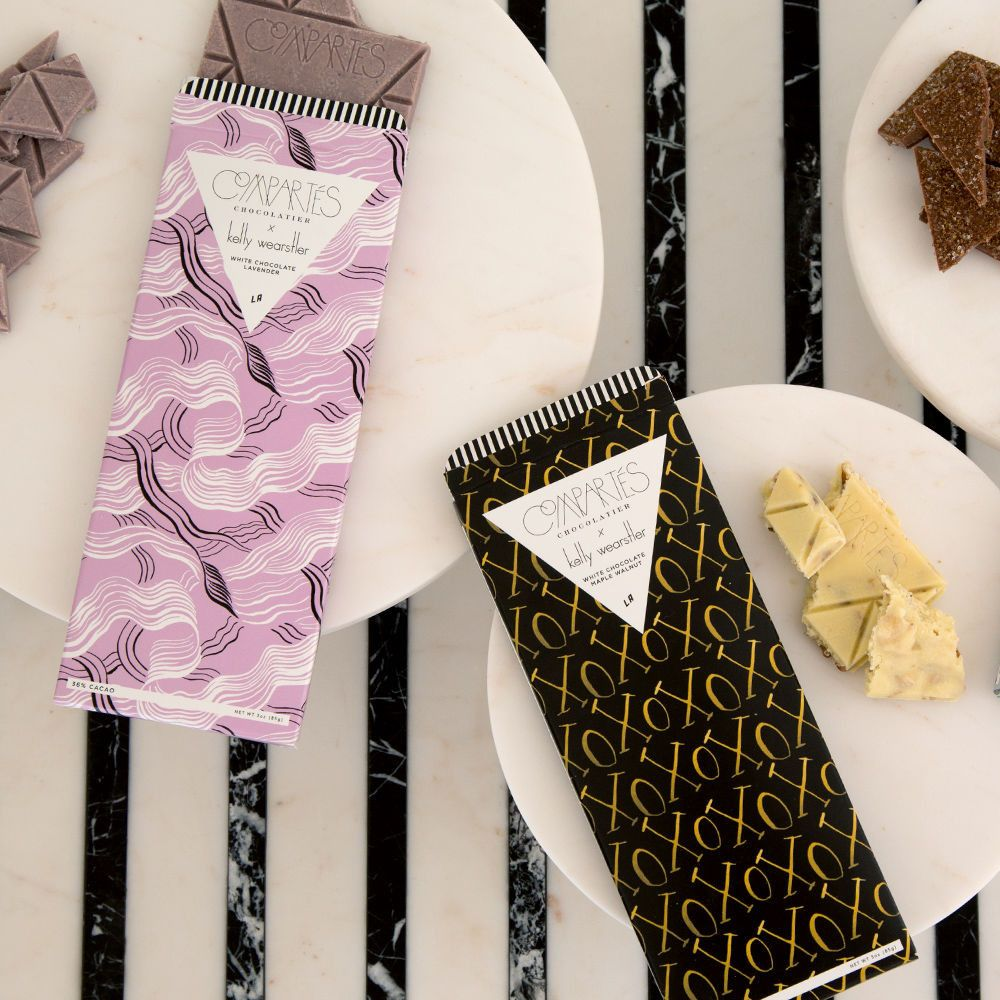 Compartes Kelly Wearstler LAVENDER CHOCOLATE BAR - Chocolate Bar ...