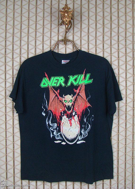 OVERKILL Official T Shirt Thrash Of America T SHIRT S-M-L-XL Brand New