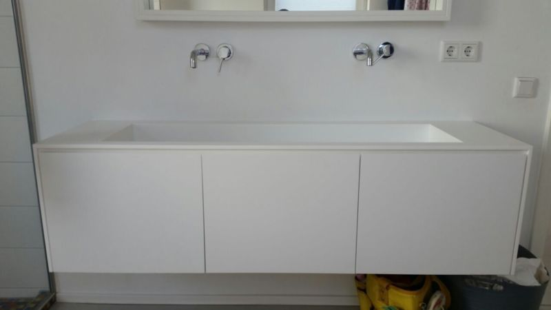 Design Waschtisch Aufsatzwaschbecken Mineralwerkstoff Hi Macs