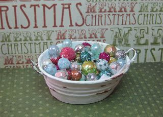 Make It Small: October 2011  ornaments - Miniature Christmas Z