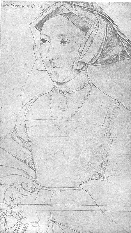 Jane Seymour, Holbein,Windsor Collection