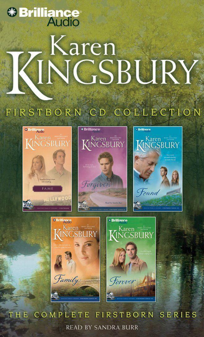 Karen Kingsbury Firstborn Cd Collection Kingsbury Karen Burr