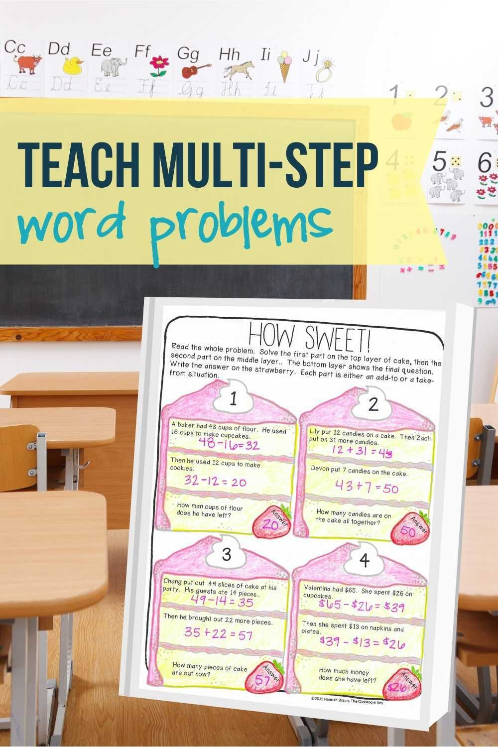 Two Step Word Problems Addition And Subtraction Word Problems Addition Word Problems Subtraction Word Problems Two step addition and subtraction word
