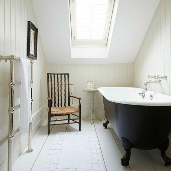 Besonderheiten der Badgestaltung für kleines Bad im Dachgeschoss - badezimmer design badgestaltung