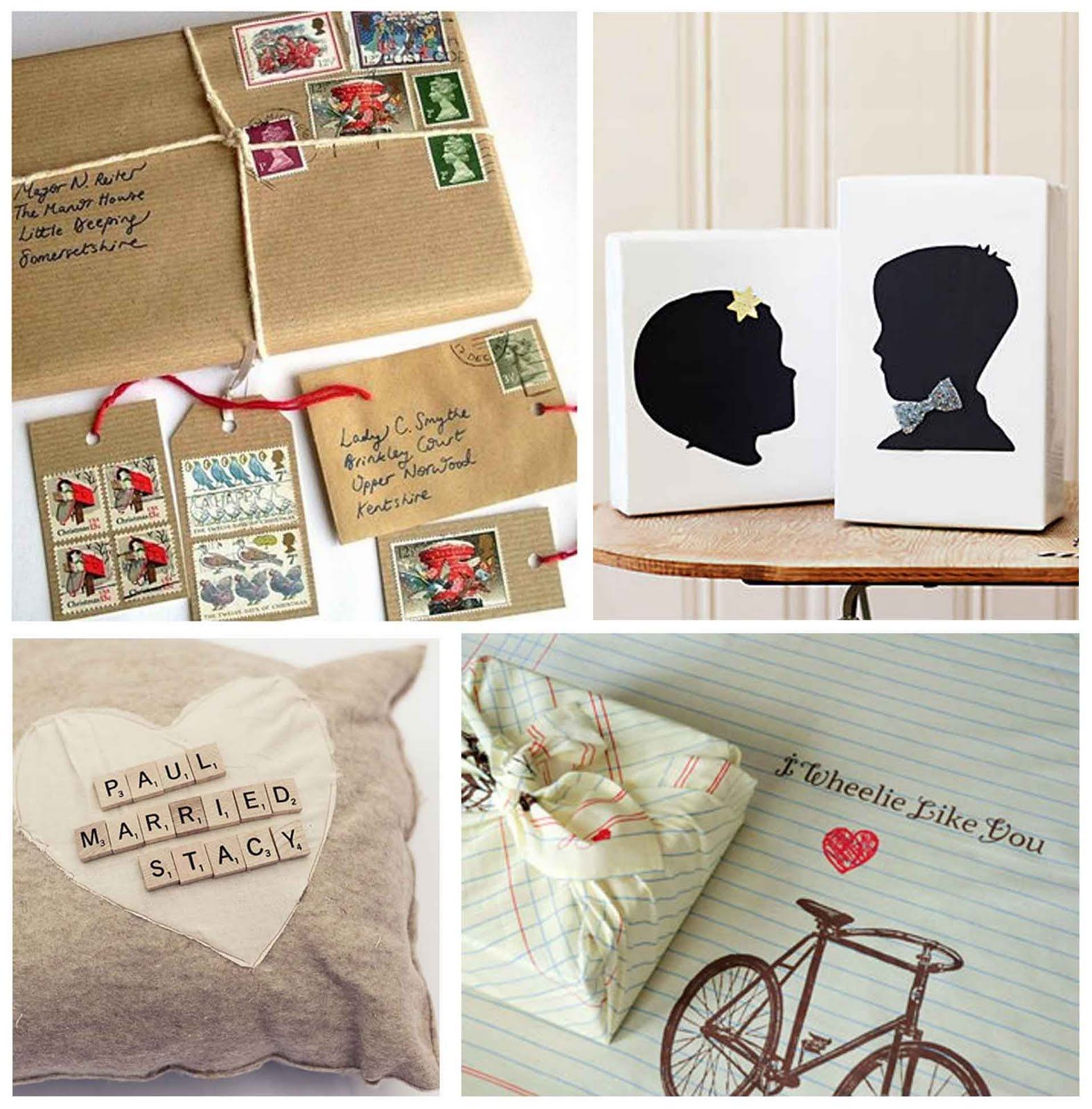 Simply Fun Stuff Creative Wedding Gift Wrap Ideas