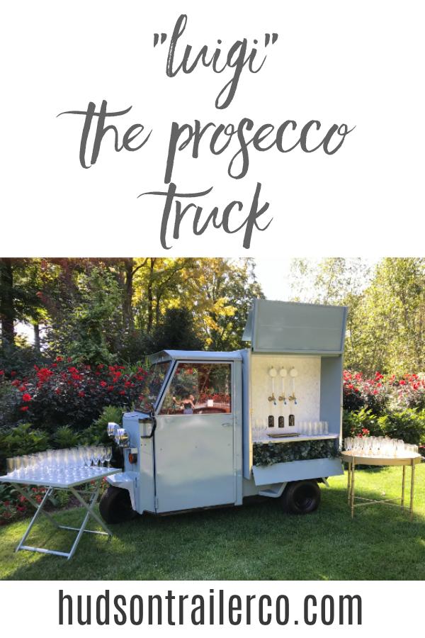 Hudson Trailer Co Wedding Processo Truck Mobile Bar Camper Bar Drink Display