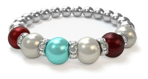 Design+a+Mothers+Bracelet+in+3+easy+steps. Choose+from+12+birthstone+colors. Featuring+genuine+Swarovski+Pearls. Just $29.95!