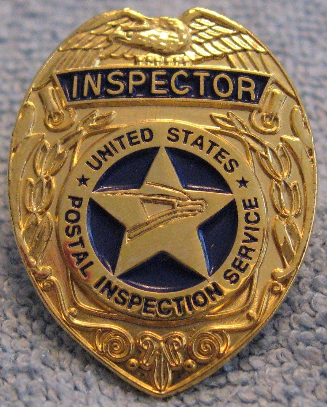 Postal Inspector Postal police, Police badge, Fire badge