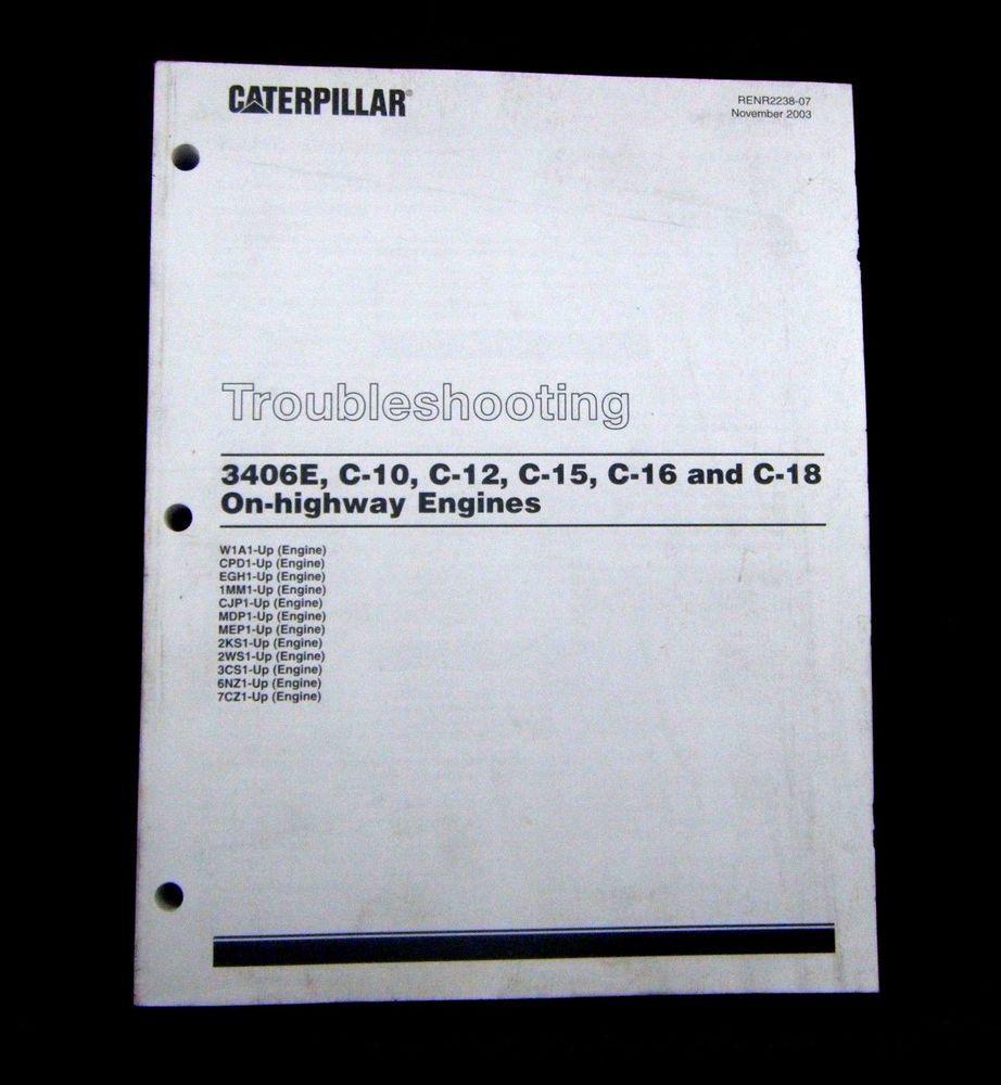 Cat caterpillar troubleshooting manual 3406e c 10 c 12 c 15 on cat caterpillar troubleshooting manual 3406e c 10 c 12 c 15 on fandeluxe Choice Image