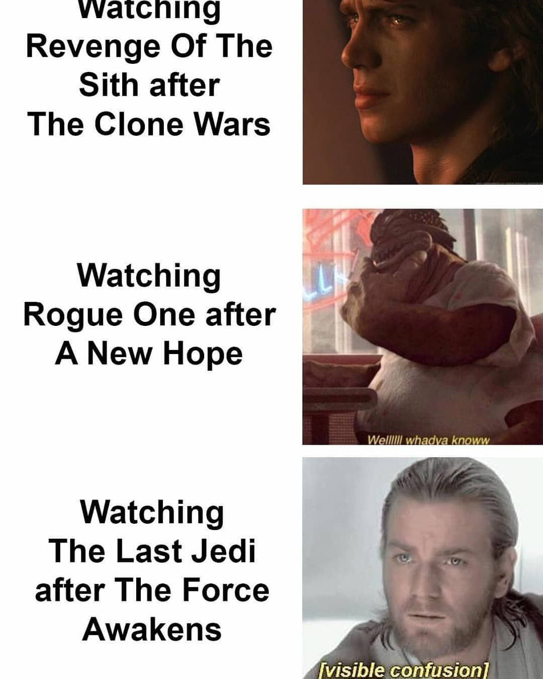 Star Wars Memes The Last Jedi Funny Star Wars Starwarsthelastjedi Star Wars Humor Star Wars Quotes Star Wars Memes