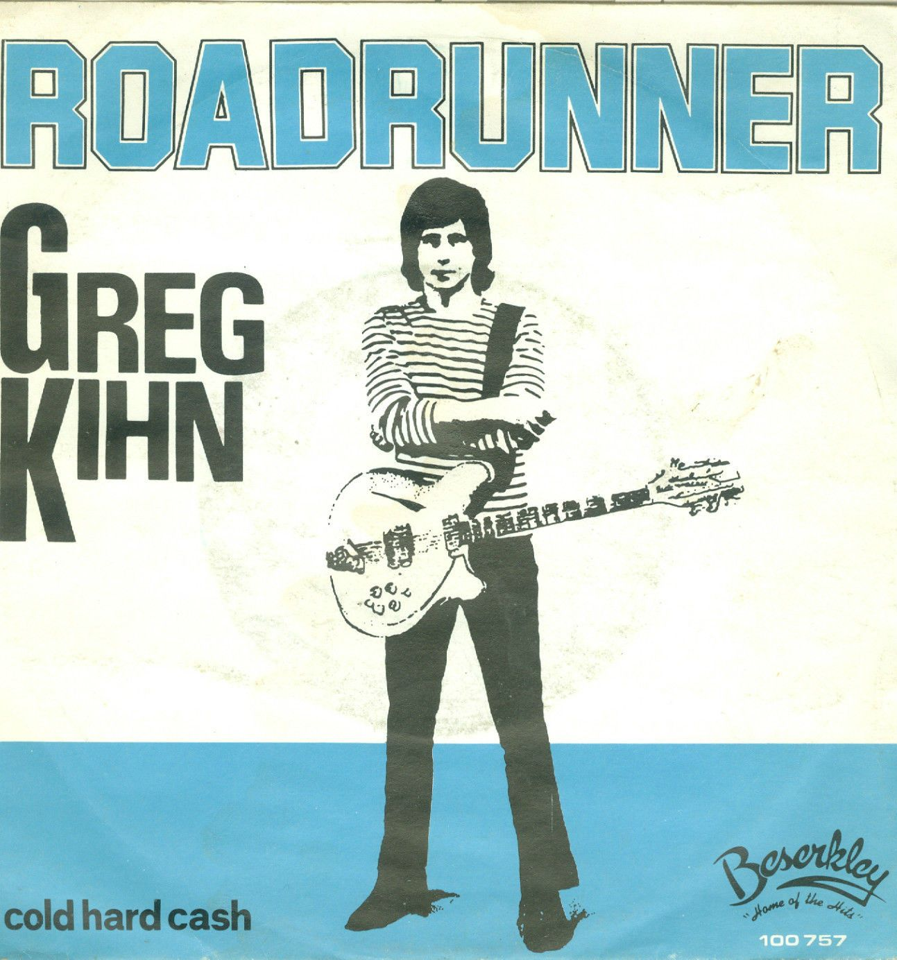 The Greg Kihn Band 45 RPM Cover https://www.facebook.com/FromTheWaybackMachine/