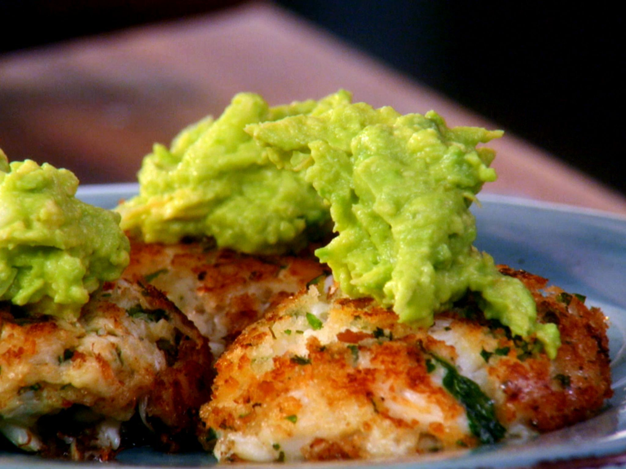 Spicy crab cakes topped with guacamole recipe guacamole recipe spicy crab cakes topped with guacamole recipe guacamole recipe cake and recipes forumfinder Image collections