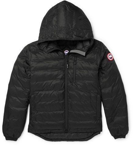 Canada Goose Lodge Packable Quilted Ripstop Shell Hooded Down Jacket Jackets Men S Coats Jackets Rose T Shirt