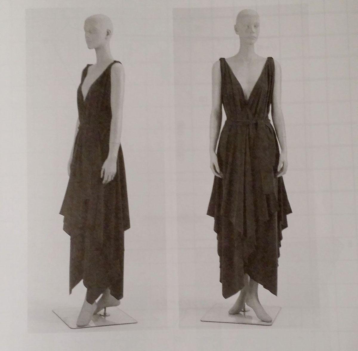Vionnet handkerchief hem dress Recommend Online Cheap Cost Outlet For Sale Cheap Supply szNX11ai