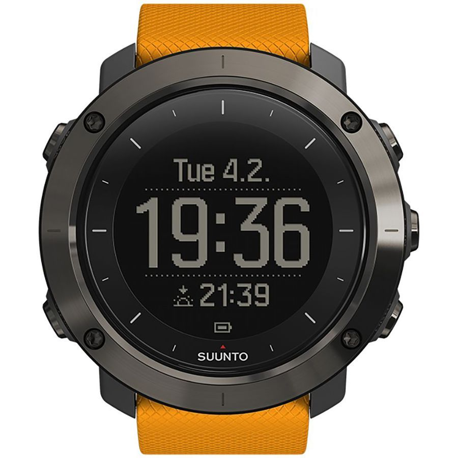 Suunto Traverse GPS Watch Amber Gps watch, Outdoor