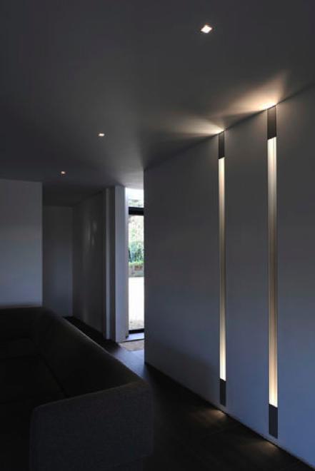 kreon lighting. White Interior With Integrated Lighting Design By Kreon _ Kreon R