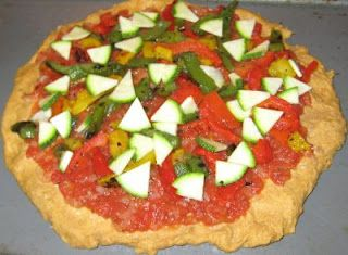 You Are What You Eat Gillian Mckeith S Incredible Mediterranean Sweet Potato Pizza Step Mediterranean Sweet Potatoes Sweet Potato Pizza Cooking Recipes