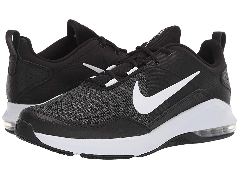 NIKE AIR MAX ALPHA TRAINER in black white men's running