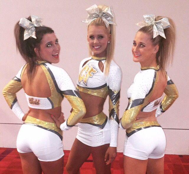louisiana cheer force gold