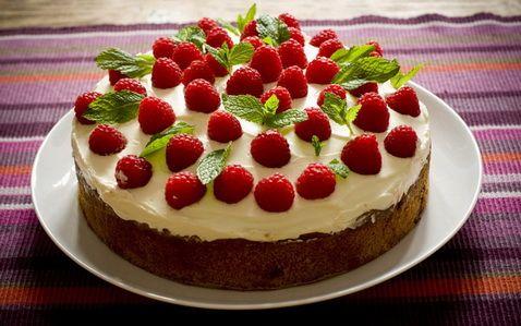 Торт с фруктами - 238 домашних вкусных рецептов приготовления - nu 19