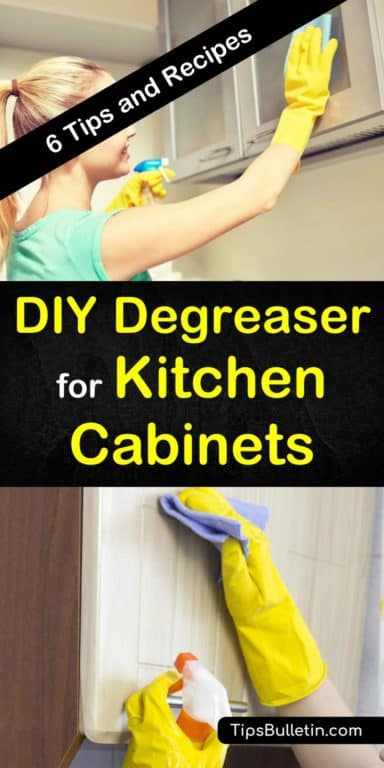 6 DIY Degreaser Recipes for Kitchen Clean