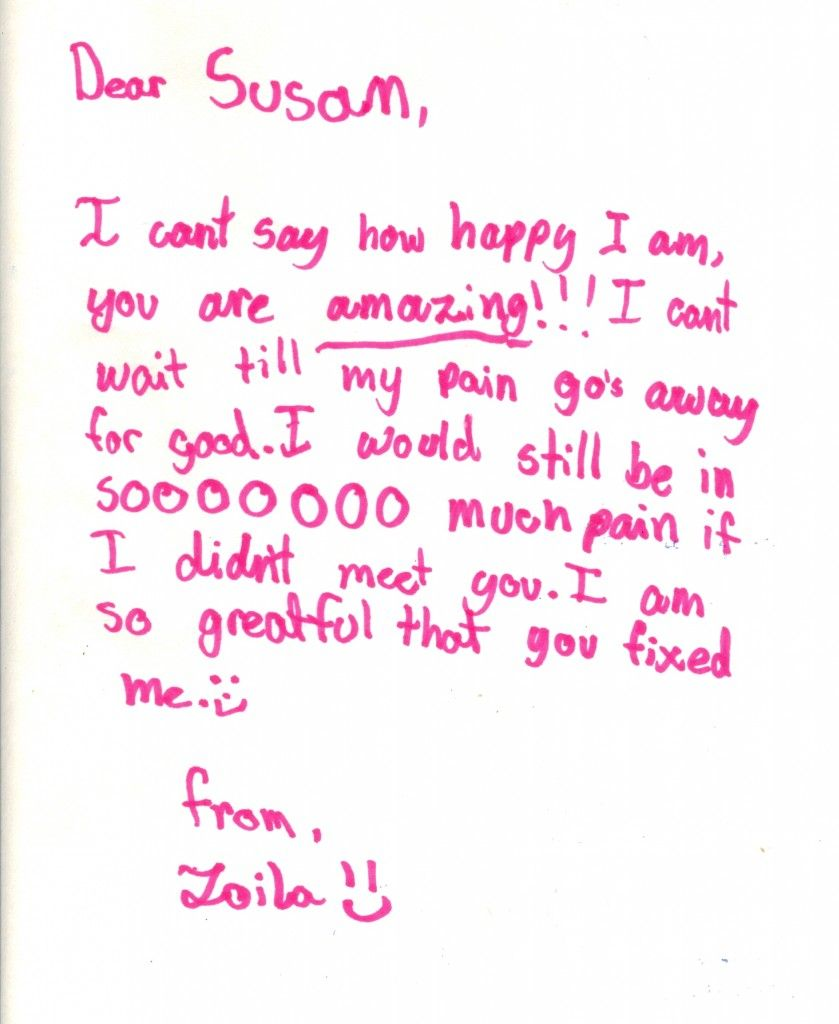 Zoilaa Thank You Letter And Drawing Free Yourself Sample Mom