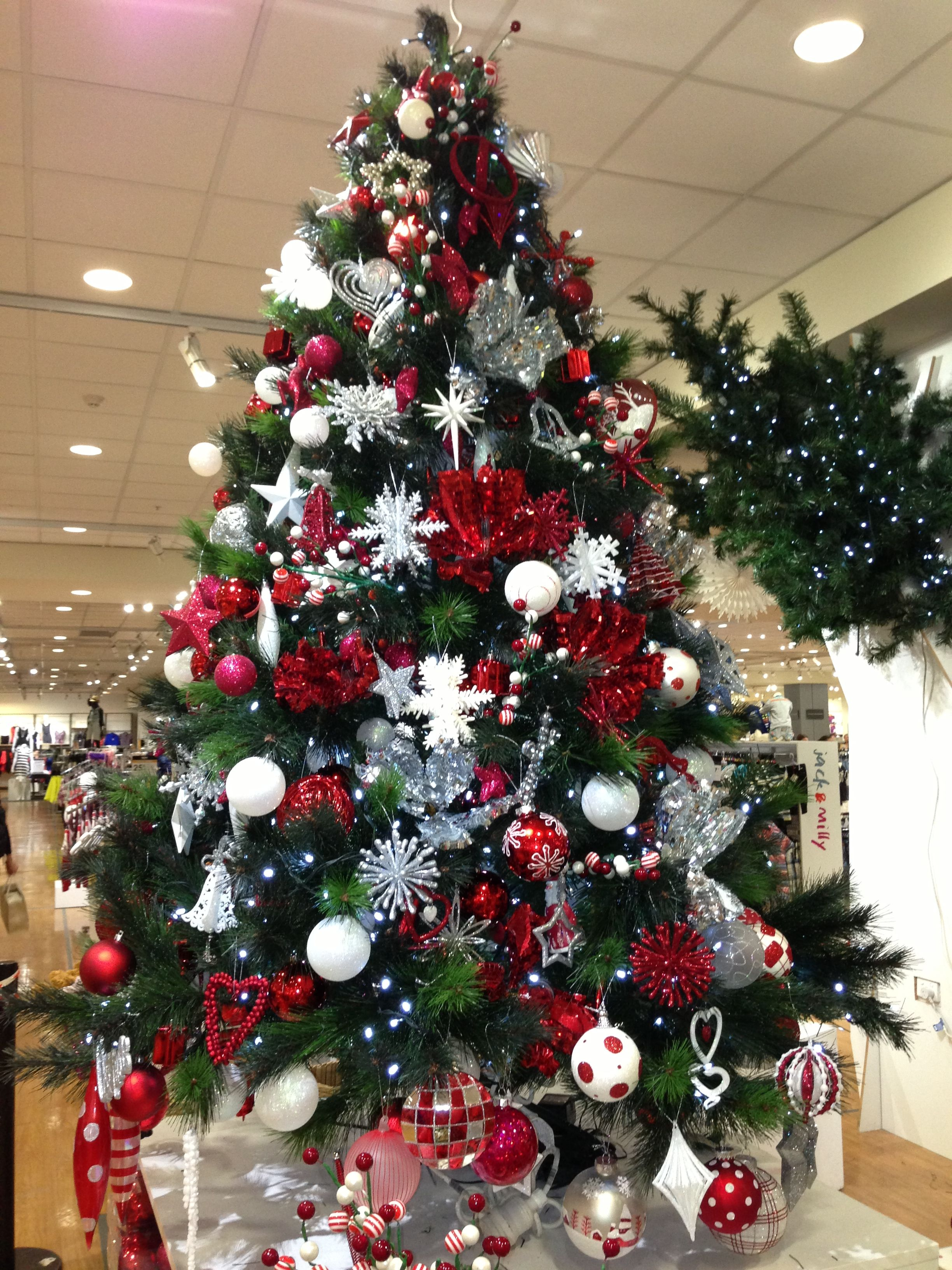Christmas tree I decorated at Myer for work experience | navidad ...