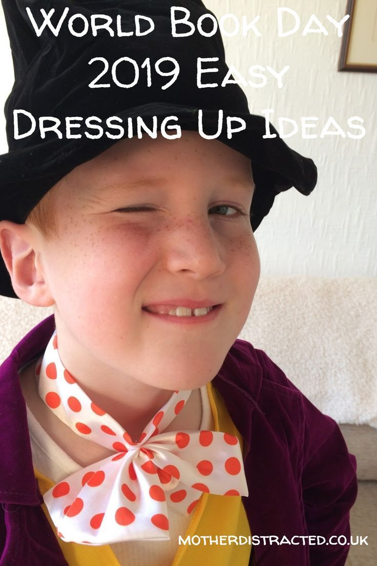 Easy Dressing Up Ideas For World Book Day Mother