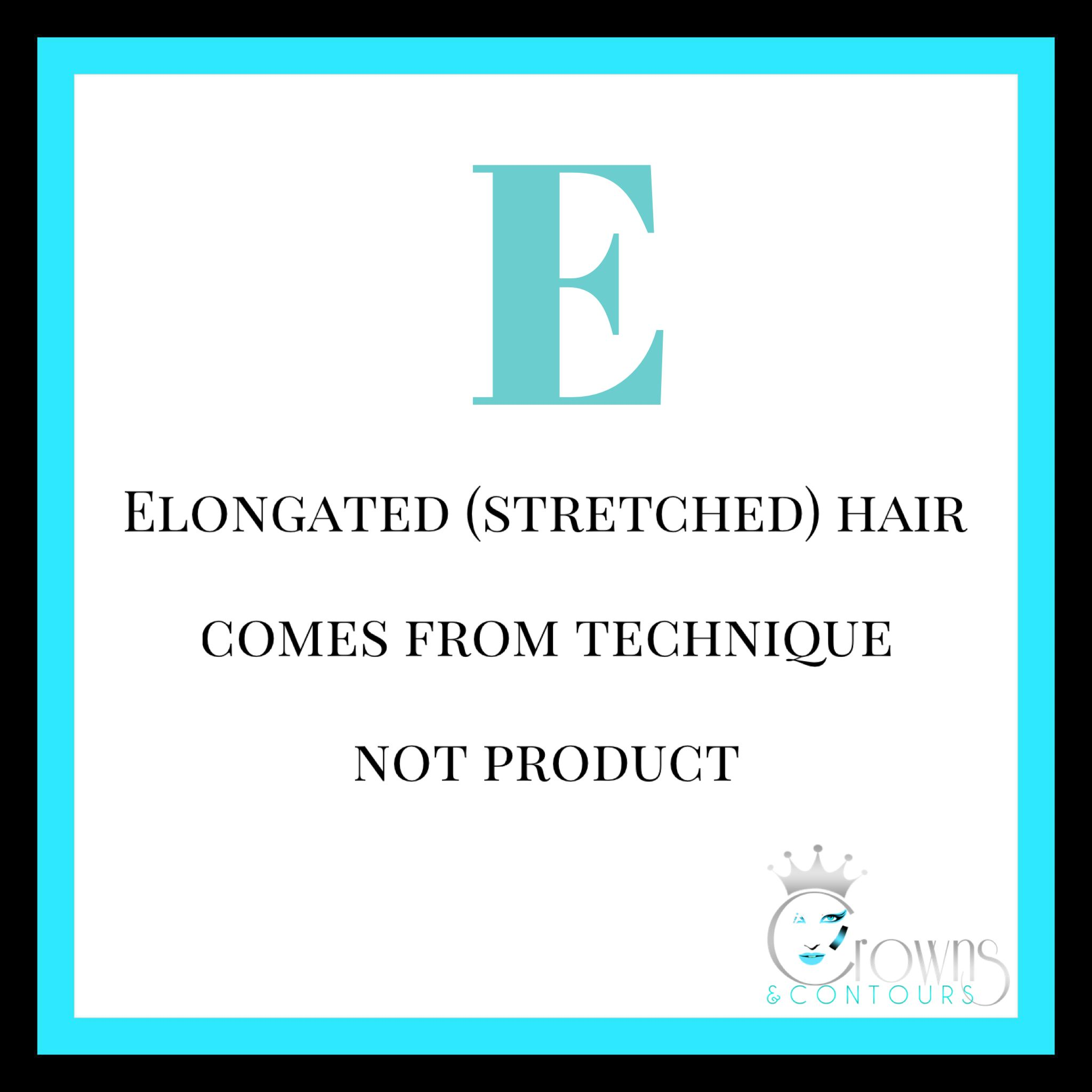 Be wary of products that promise elongated curls as they