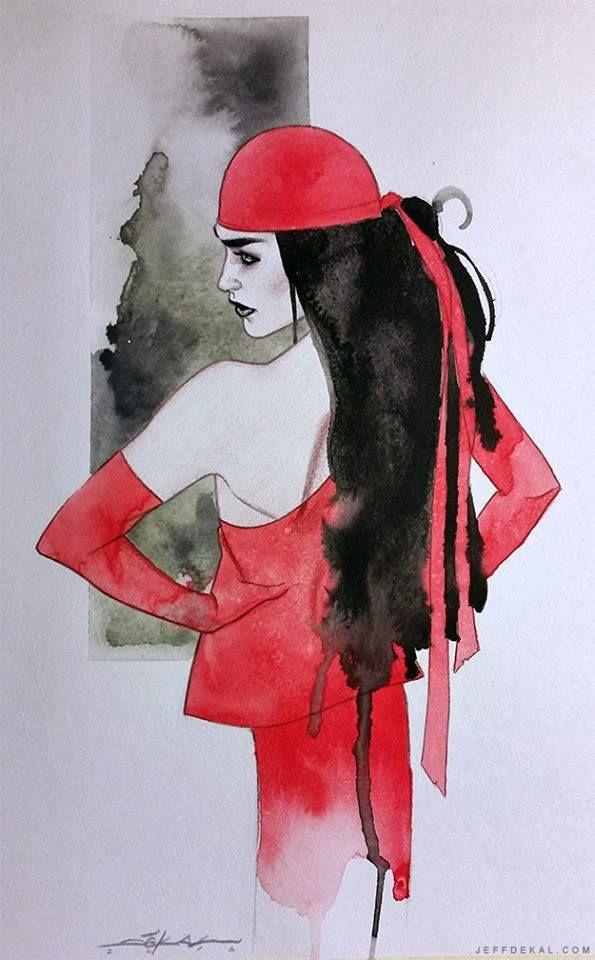 Elektra by Jeff Dekal *
