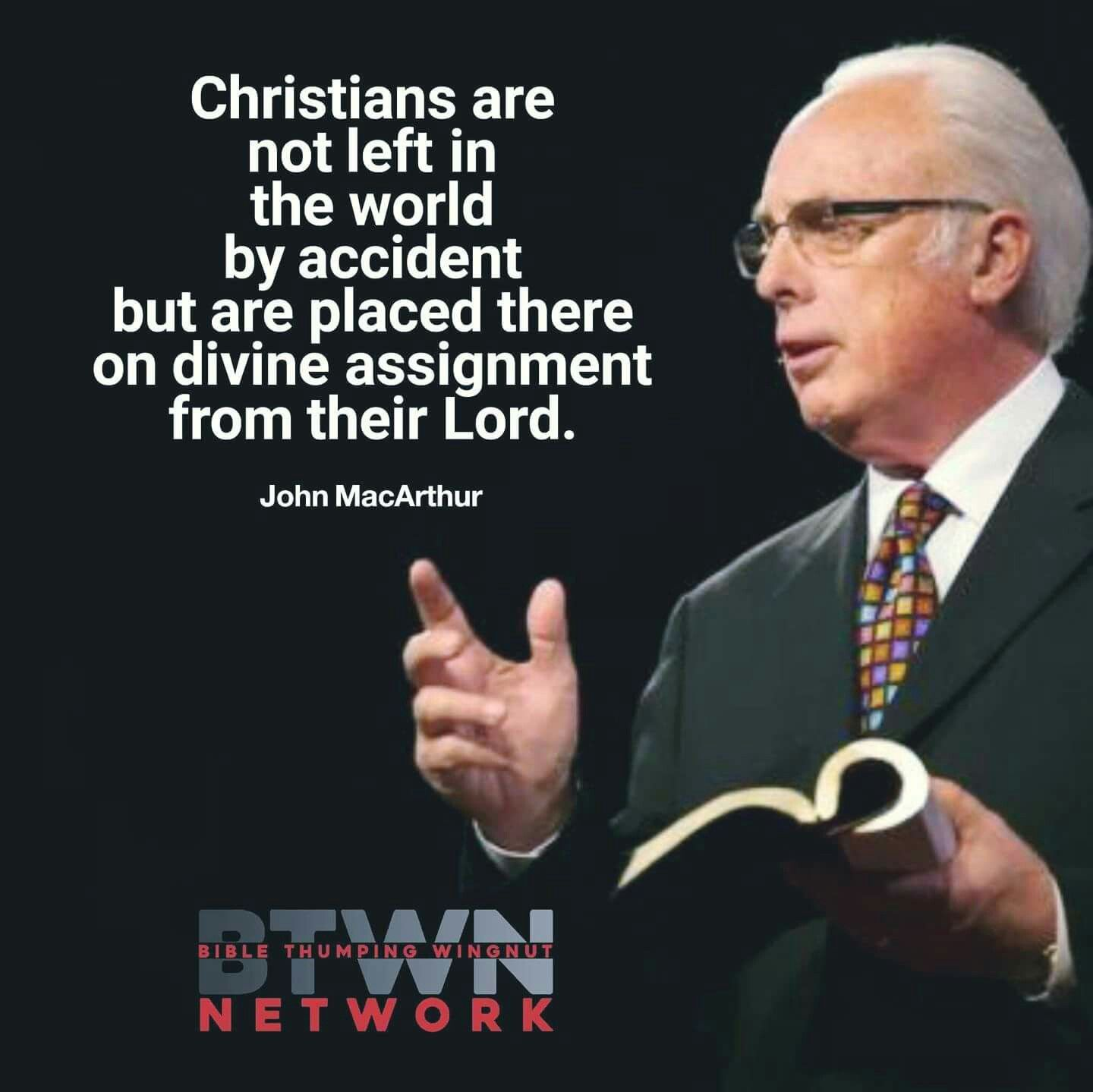 John Macarthur Quotes Christian Quotes  John Macarthur Quotes  God's Sovereignty