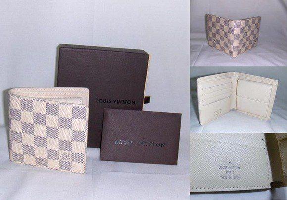 53dd8de3e221 Louis Vuitton Men s Wallet damier azur Coin Leather