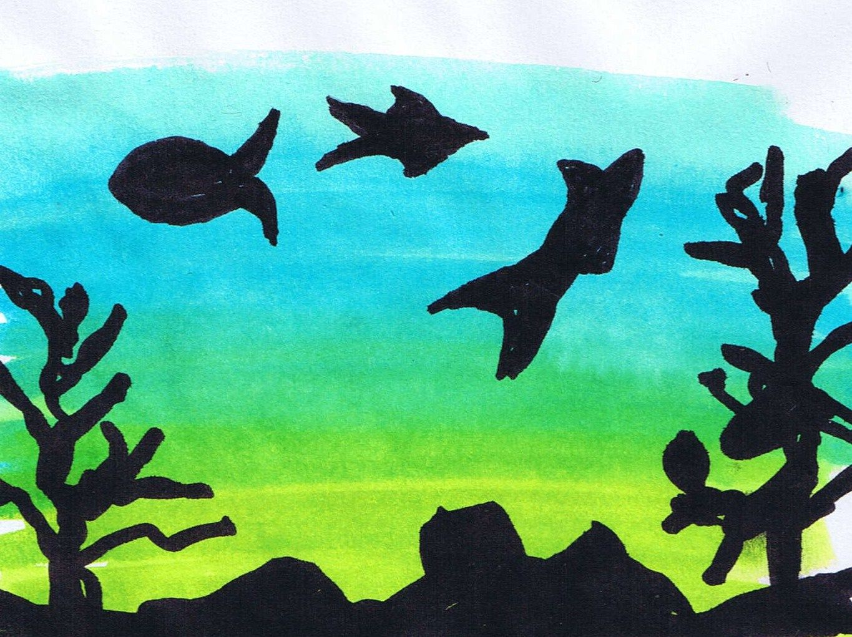 Under The Sea Art Work Ks1
