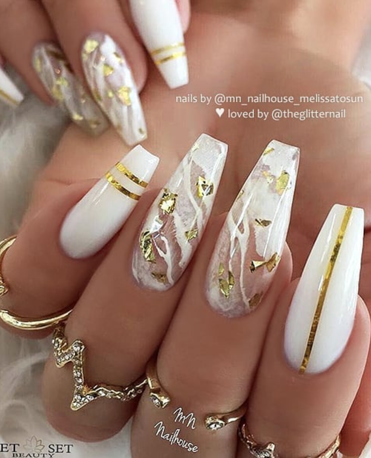 Photo of 54 Stunning Acrylic Gel Coffin Nails Design For Summer Nails To Look Elegant! – Page 7 of 54 – Latest Fashion Trends For Woman