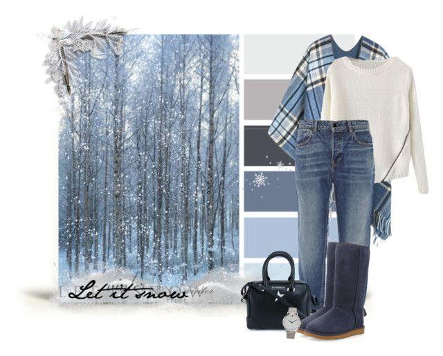 """Winter 11"" by k-condratova ❤ liked on Polyvore featuring Belleza, MANGO, Alexander Wang, Givenchy, UGG Australia, Larsson & Jennings, jeans, beautyset, PolyvoreMostStylish y Winter2016"