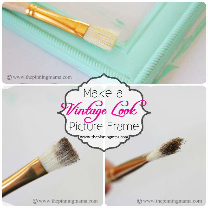 Único How To Make A Picture Frame Look Antique Ilustración - Ideas ...