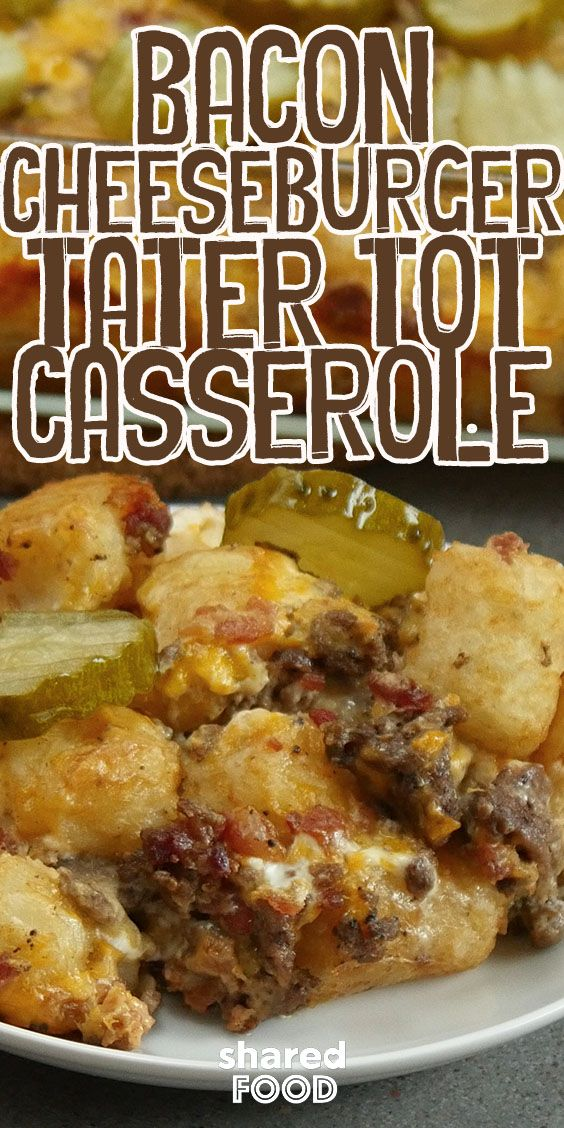 Photo of Bacon Cheeseburger Casserole Is A New Quick and Easy Dinner …