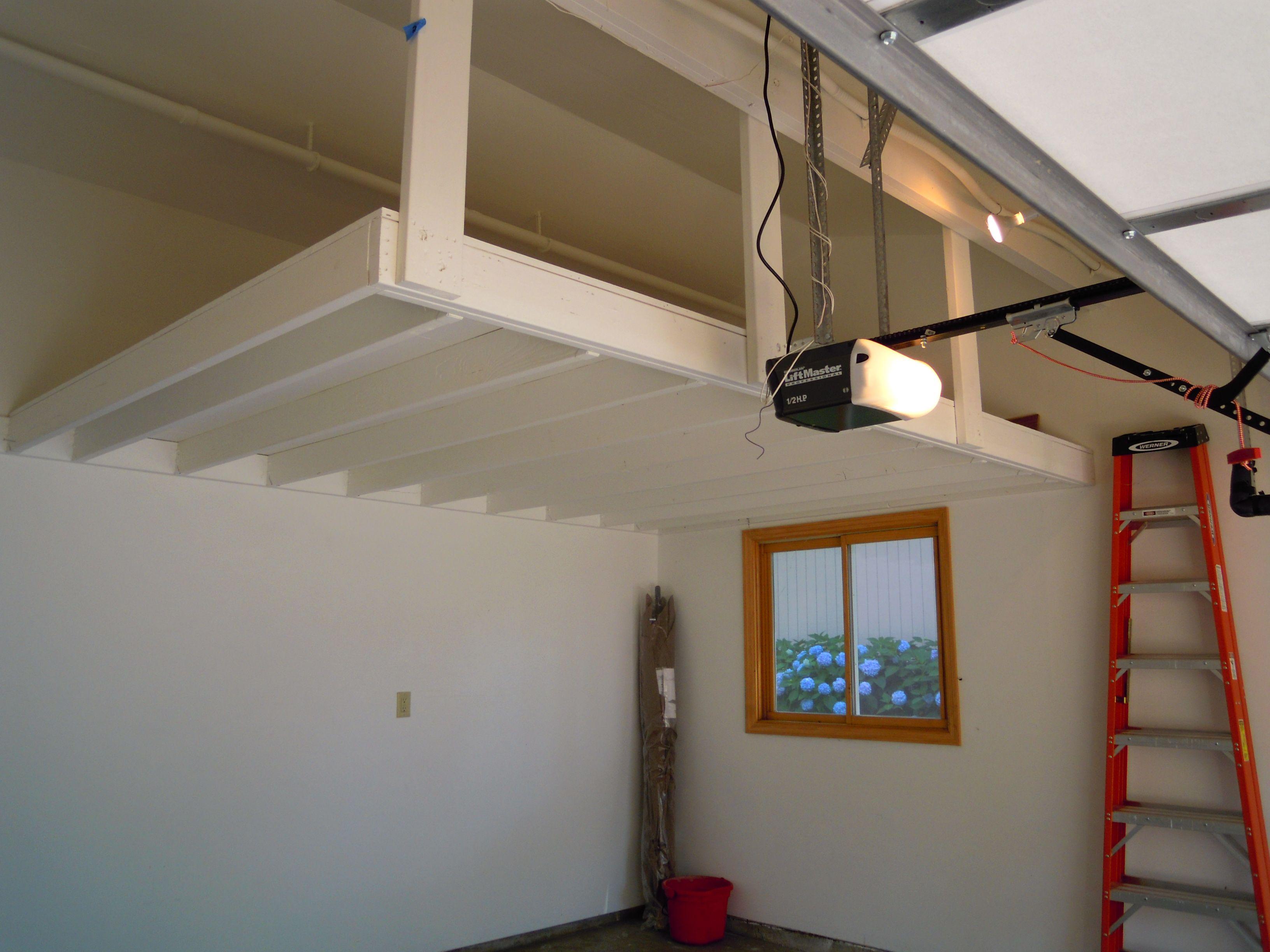 Overhead Garage Storage Awesome