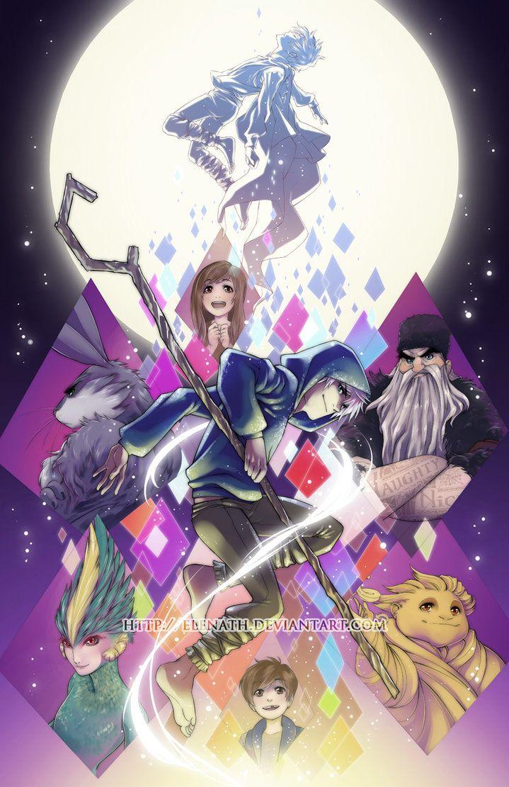 Rise Of The Guardians By Elenath On Deviantart El Origen De Los Guardianes Jack Frost Cosas De Disney