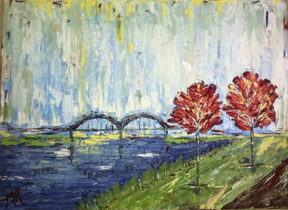 Memphis Bridge painting For more Memphis love check out http://www ...