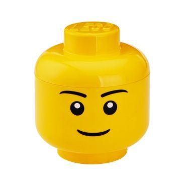 LEGO Storage Head Boy Large