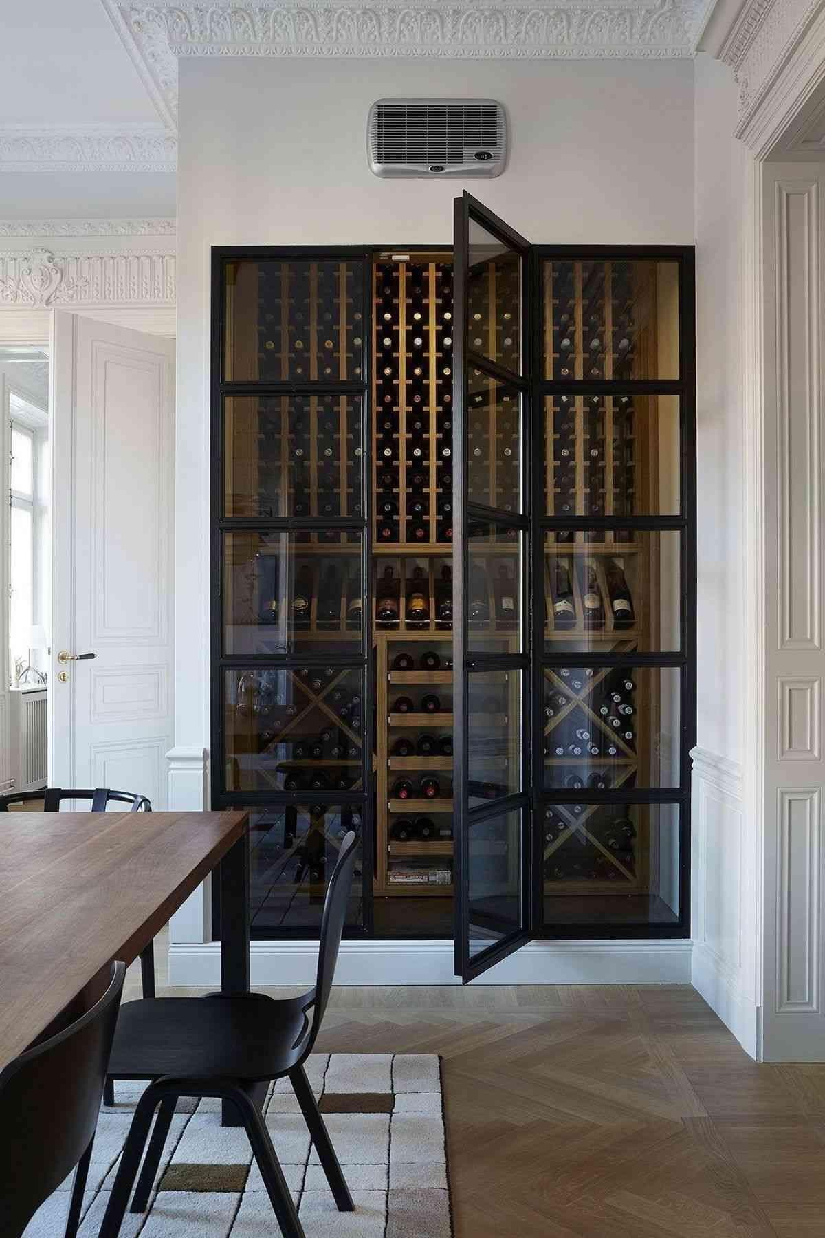 25 Luxury Modern Wine Cellar Ideas To Make Your Happy Home