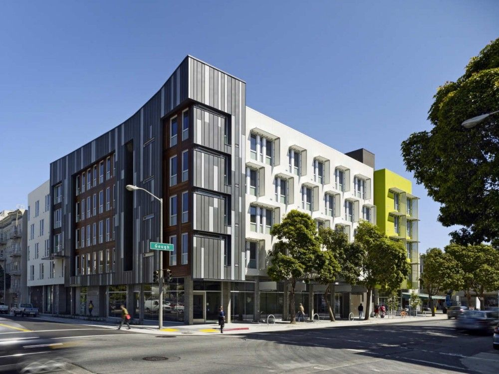 Gallery Of Richardson Apartments David Baker Partners 1 Low Income Housing Apartment Architecture Residential Architecture