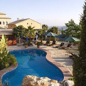Romantic Hotel Finca El Tossal Bolulla Spain Spanien Finca