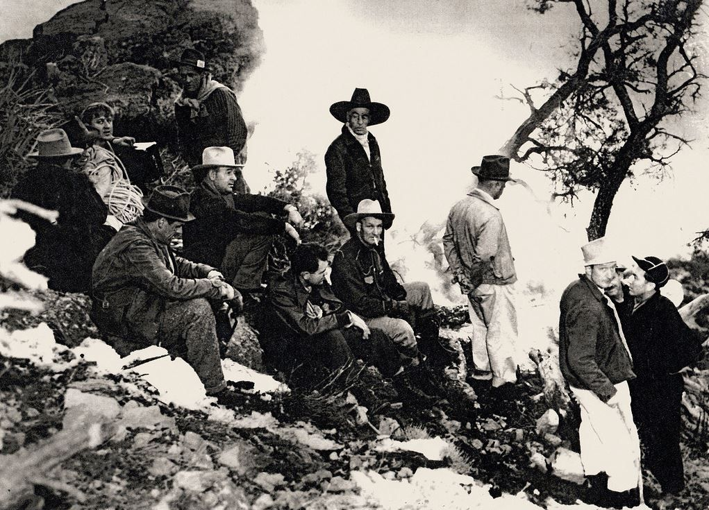 The heroic Vegas rescuers -- locals who climbed a very steep mountain in dead of winter...