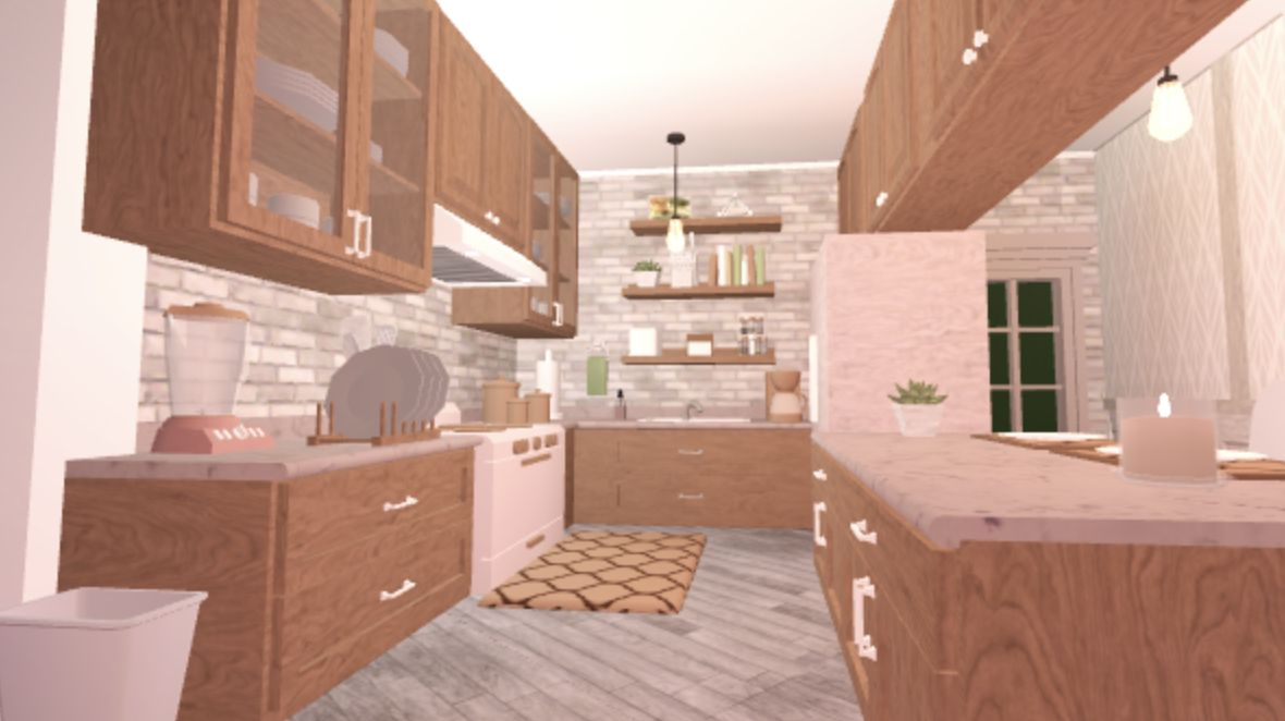 Linen Kitchen Bloxburg In 2020 Home Building Design Tiny House Layout House Design Kitchen