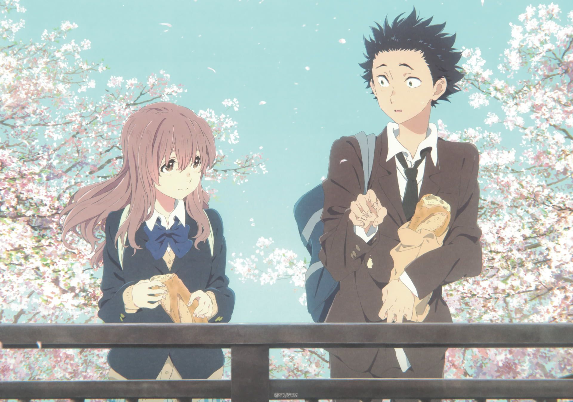 HD wallpaper: A Silent Voice illustration, Anime, Koe No Katachi, Shouko Nishimiya