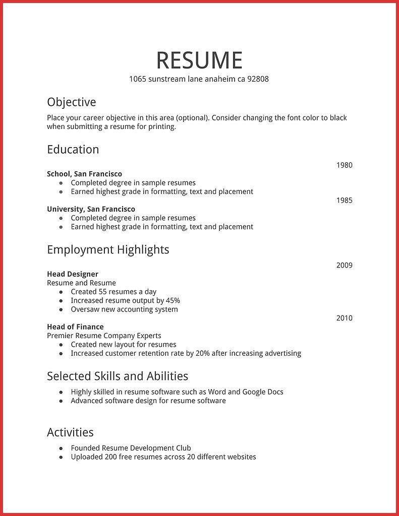 Resume Examples Hobbies Examples Hobbies Resume Resumeexamples